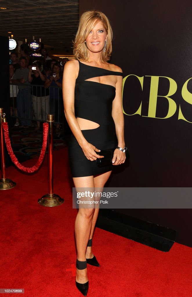 Actress Michelle Stafford arrives at the 37th Annual Daytime Entertainment Emmy Awards held at the Las Vegas Hilton on June 27 2010 in Las Vegas...