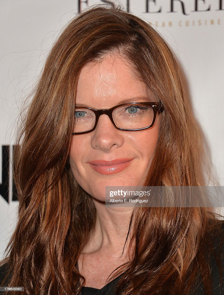 Actress Michelle Stafford arrives to Genlux Magazine's Issue Release party featuring Erika Christensen at The Sofitel Hotel on August 29 2013 in Los...