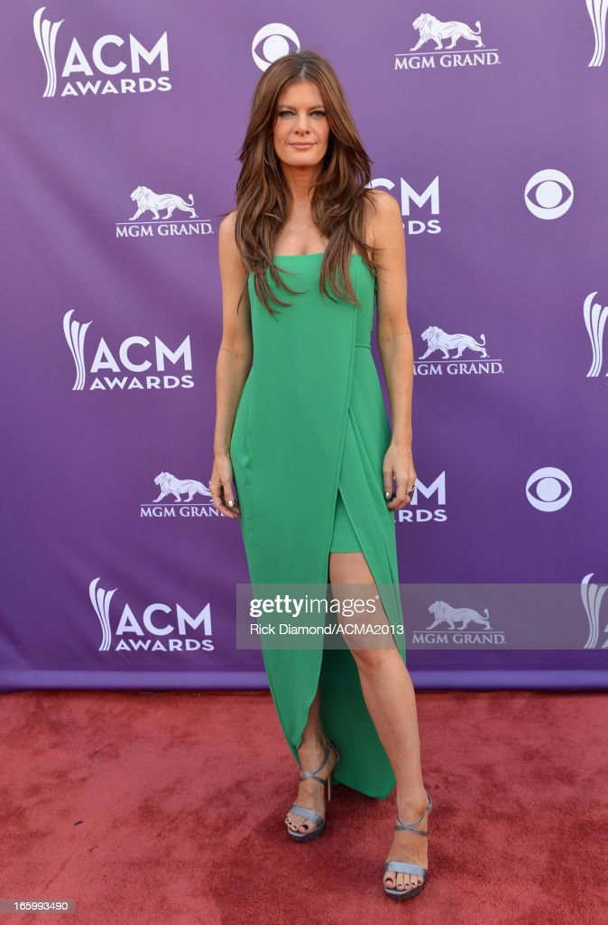 Actress Michelle Stafford attends the 48th Annual Academy of Country Music Awards at the MGM Grand Garden Arena on April 7, 2013 in Las Vegas, Nevada.