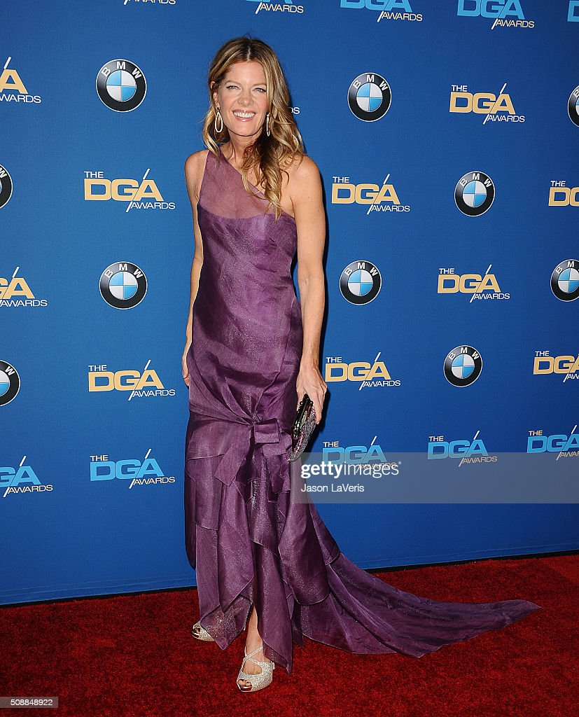 Actress Michelle Stafford attends the 68th annual Directors Guild of America Awards at the Hyatt Regency Century Plaza on February 6 2016 in Los...