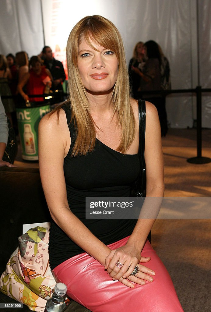 Actress Michelle Stafford attends the Spring 2009 Mercedes-Benz Fashion Week held at Smashbox Studios on October 14, 2008 in Culver City, California.