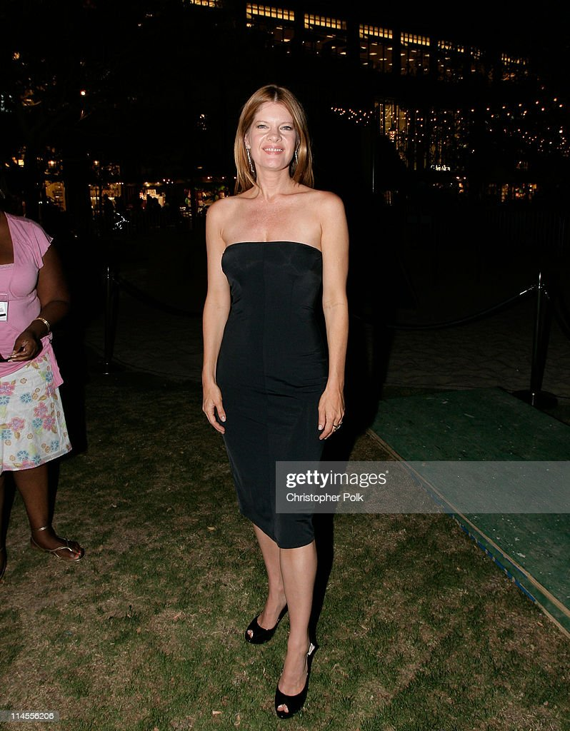 Actress Michelle Stafford poses at the Summer Concert Series at the Americana at Brand on August 13 2008 in Glendale California
