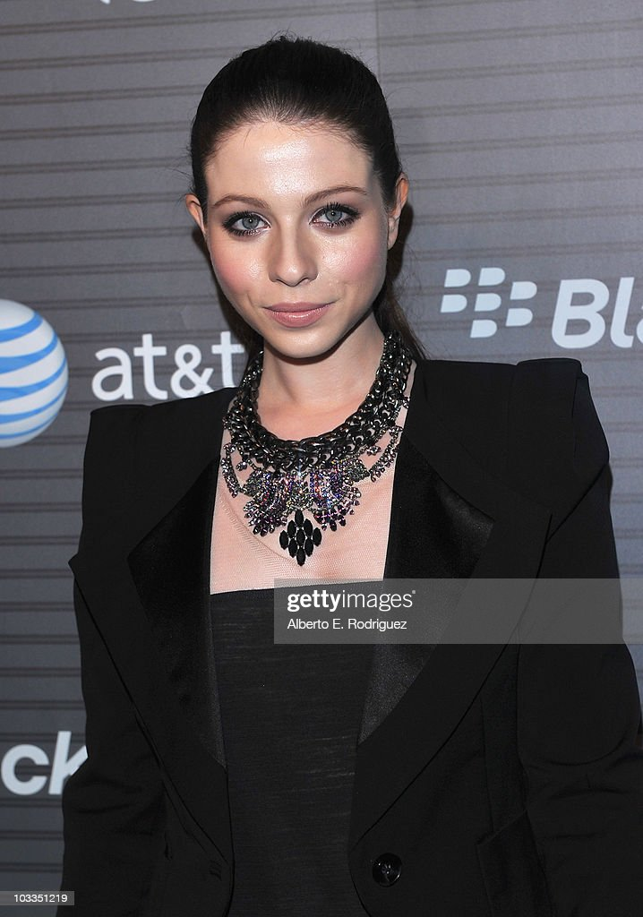 Actress Michelle Trachtenberg arrives at the Blackberry Torch launch party on August 11 2010 in Los Angeles California