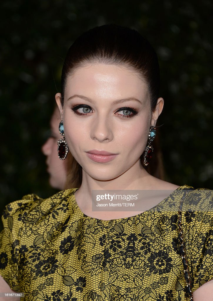 Actress Michelle Trachtenberg arrives at the Topshop Topman LA Opening Party at Cecconi's West Hollywood on February 13, 2013 in Los Angeles, California.