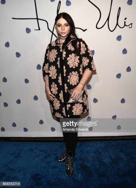 Actress Michelle Trachtenberg arrives at the Tyler Ellis 5th Anniversary party and launch of the Tyler Ellis x Petra Flannery Collection at Chateau...