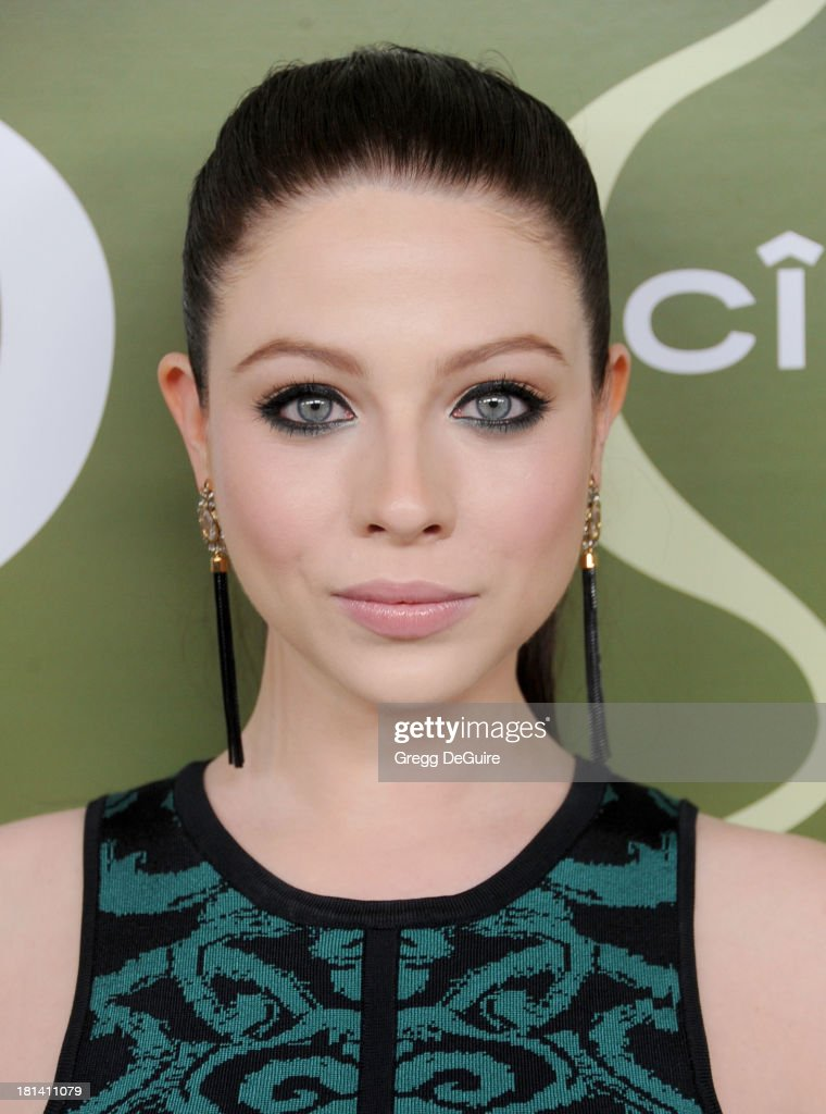 Actress <a gi-track='captionPersonalityLinkClicked' href=/galleries/search?phrase=Michelle+Trachtenberg&family=editorial&specificpeople=202081 ng-click='$event.stopPropagation()'>Michelle Trachtenberg</a> arrives at the Variety and Women In Film Pre-Emmy Party at Scarpetta on September 20, 2013 in Beverly Hills, California.