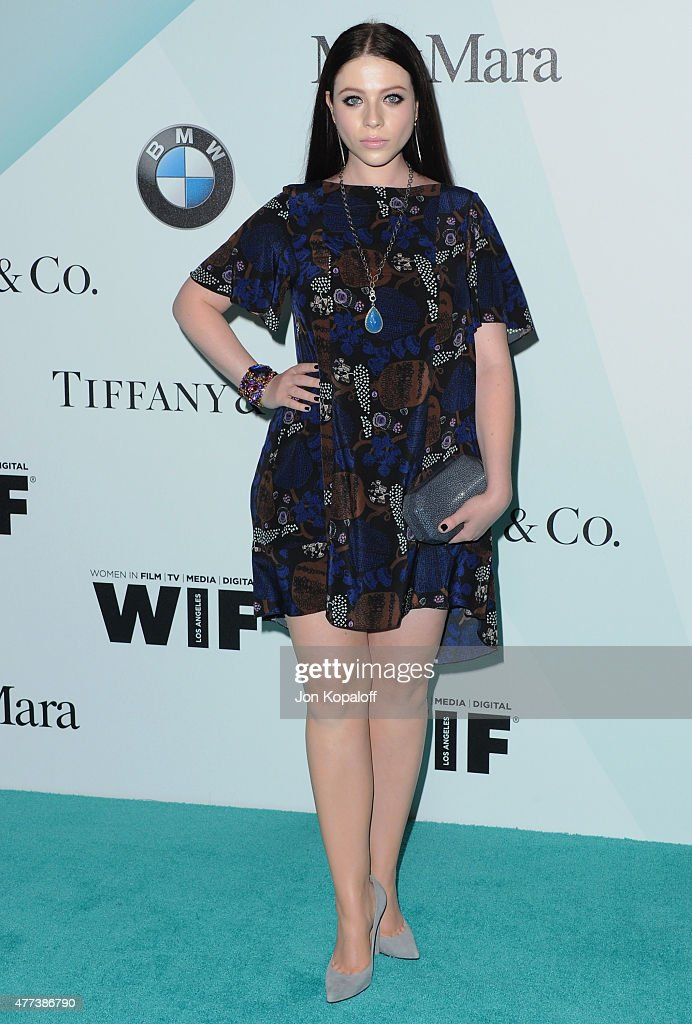 Actress Michelle Trachtenberg arrives at Women In Film 2015 Crystal Lucy Awards at the Hyatt Regency Century Plaza on June 16 2015 in Los Angeles...