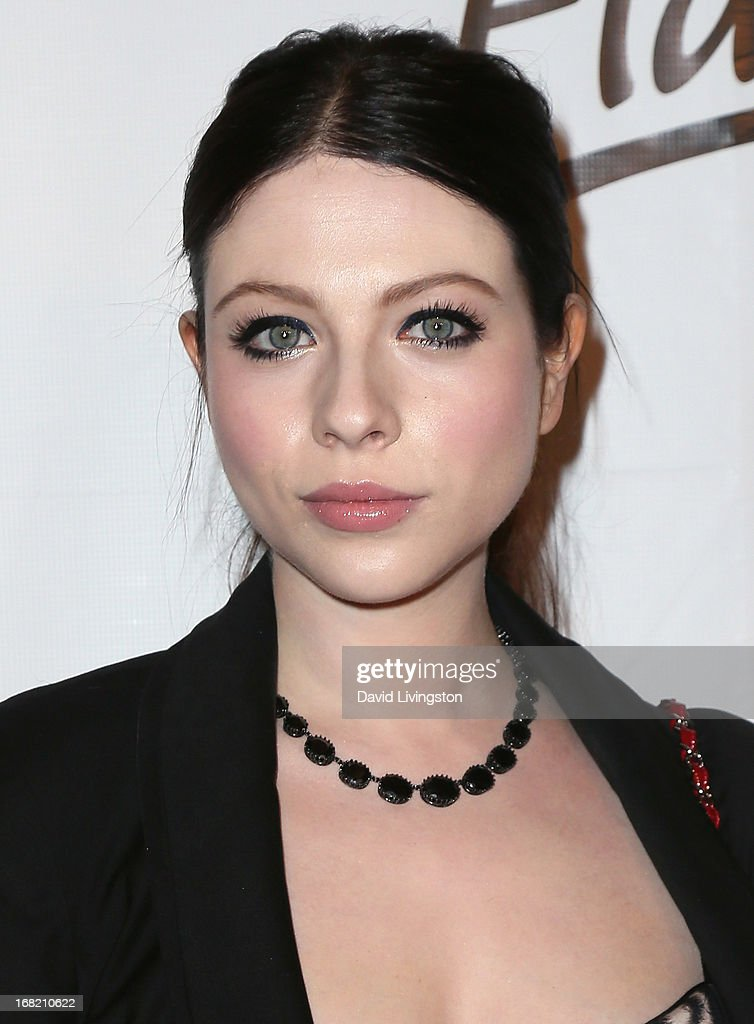 Actress <a gi-track='captionPersonalityLinkClicked' href=/galleries/search?phrase=Michelle+Trachtenberg&family=editorial&specificpeople=202081 ng-click='$event.stopPropagation()'>Michelle Trachtenberg</a> attends Lay's 'Do Us a Flavor' contest hosted by Eva Longoria at Beso on May 6, 2013 in Hollywood, California.