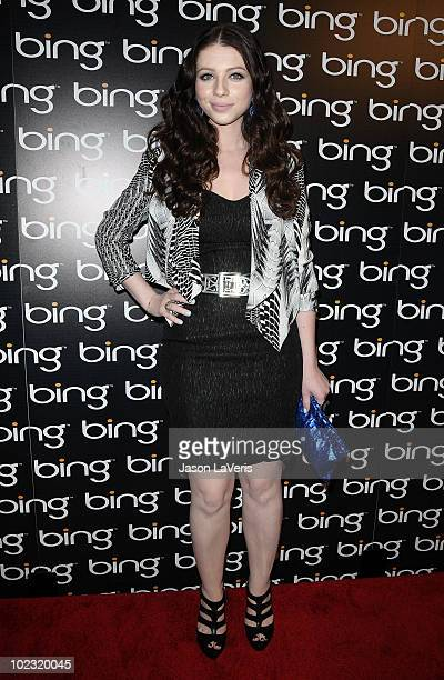 Actress Michelle Trachtenberg attends the after party for Bing's 'Celebration Of Creative Minds' at BOA Steakhouse on June 22 2010 in West Hollywood...