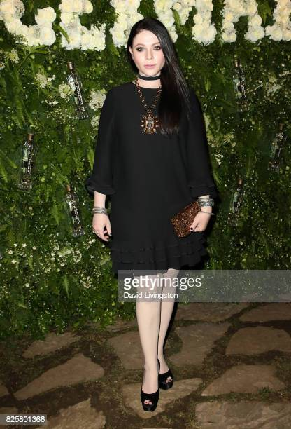 Actress Michelle Trachtenberg attends the Maison StGermain LA debut hosted by Lily Kwong at the Houdini Estate on August 2 2017 in Los Angeles...