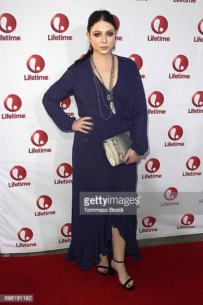Actress Michelle Trachtenberg attends the premiere of Lifetime's 'Sister Cities' held at Paramount Theatre on August 31 2016 in Hollywood California