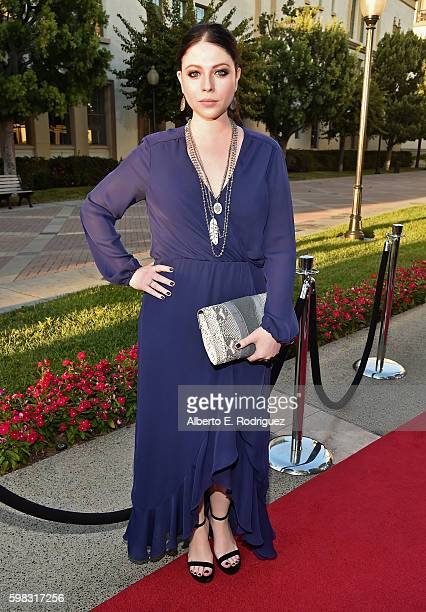 Actress Michelle Trachtenberg attends the premiere of Lifetime's 'Sister Cities' at Paramount Theatre on August 31 2016 in Hollywood California