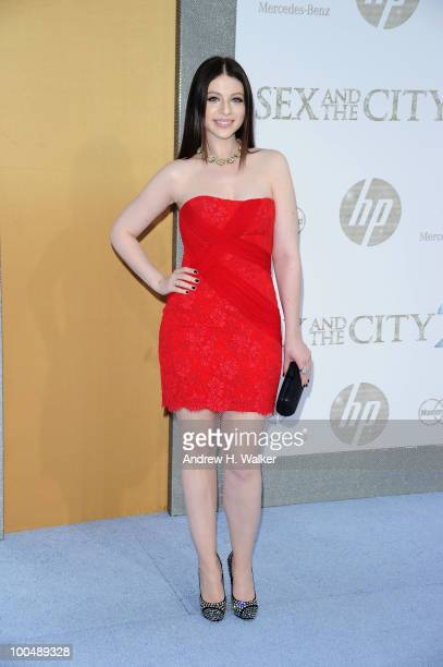 Actress Michelle Trachtenberg attends the 'Sex And The City 2' Premiere presented by MercedesBenz And Maybach at Radio City Music Hall on May 24 2010...
