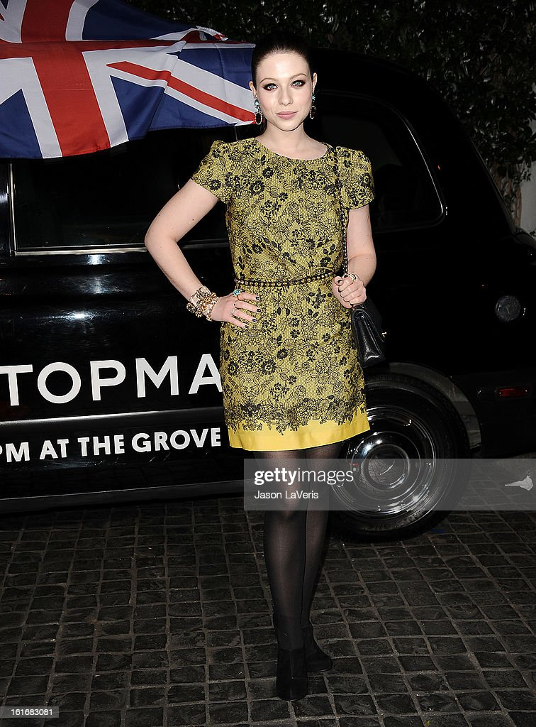 Actress Michelle Trachtenberg attends the Topshop Topman LA flagship store opening party at Cecconi's Restaurant on February 13, 2013 in Los Angeles, California.