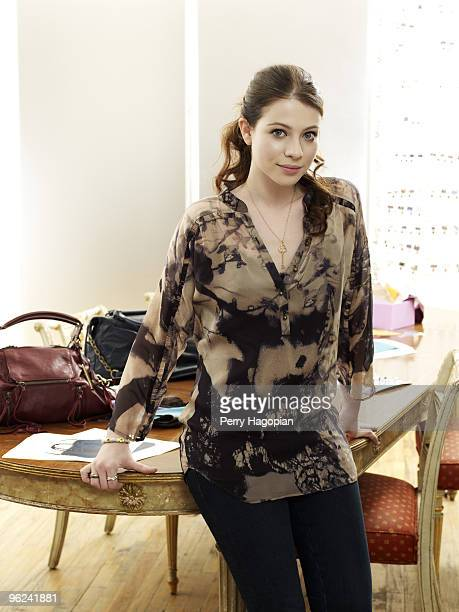 Actress Michelle Trachtenberg is photographed for Marie Claire Magazine on July 2 2009 in New York City