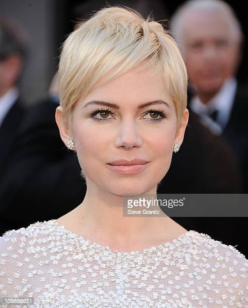 Actress Michelle Williams arrive at the 83rd Annual Academy Awards at the Kodak Theatre on February 27 2011 in Hollywood California
