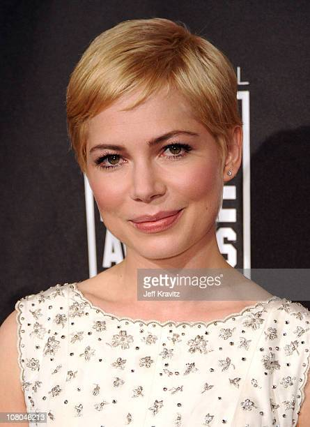 Actress Michelle Williams arrives at the 16th Annual Critics' Choice Movie Awards at the Hollywood Palladium on January 14 2011 in Los Angeles...