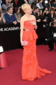 Actress Michelle Williams arrives at the 84th Annual Academy Awards held at the Hollywood Highland Center on February 26 2012 in Hollywood California