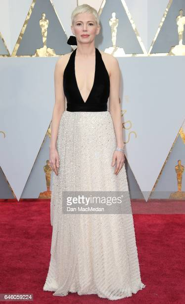 Actress Michelle Williams arrives at the 89th Annual Academy Awards at Hollywood Highland Center on February 26 2017 in Hollywood California