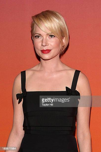 Actress Michelle Williams attends the 2013 Whitney Gala and Studio party at Skylight at Moynihan Station on October 23 2013 in New York City