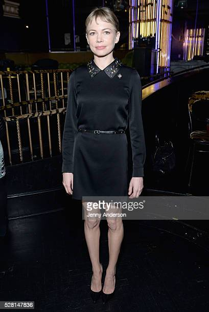 Actress Michelle Williams attends the 2016 Tony Awards Meet The Nominees Press Reception on May 4 2016 in New York City