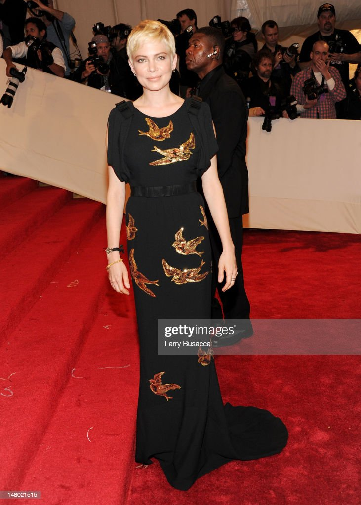 Actress Michelle Williams attends the 'Alexander McQueen: Savage Beauty' Costume Institute Gala at The Metropolitan Museum of Art on May 2, 2011 in New York City.