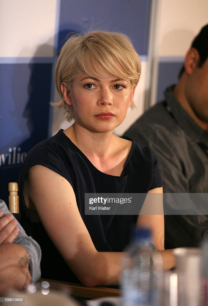 Actress Michelle Williams attends the 'Industry In Focus - Blue Valentine'at the American Pavillion during the 63rd Annual Cannes Film Festival on May 20, 2010 in Cannes, France.