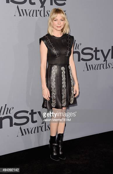 Actress Michelle Williams attends the InStyle Awards at Getty Center on October 26 2015 in Los Angeles California