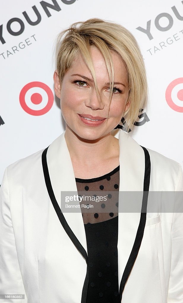 Actress Michelle Williams attends the Kate Young For Target Launch at The Old School NYC on April 9, 2013 in New York City.