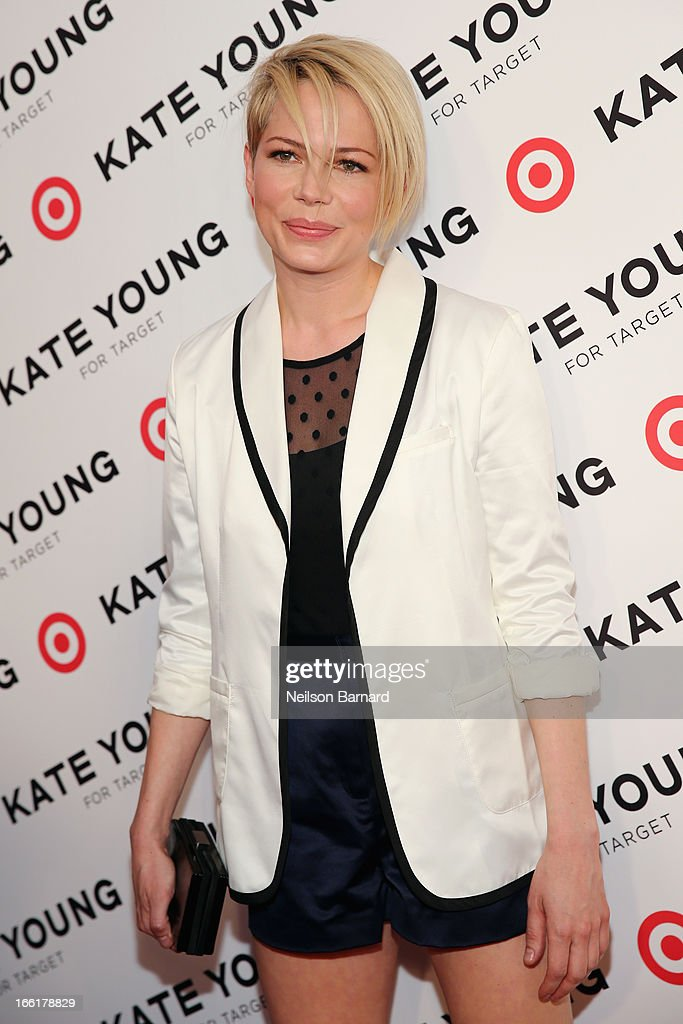 Actress Michelle Williams attends the Kate Young for Target launch event on April 9, 2013 in New York City.