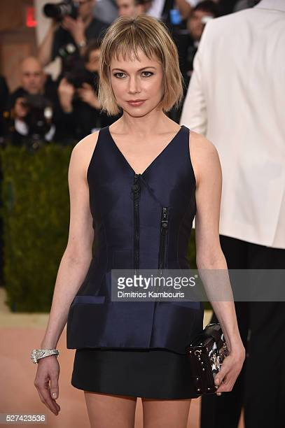 Actress Michelle Williams attends the 'Manus x Machina Fashion In An Age Of Technology' Costume Institute Gala at Metropolitan Museum of Art on May 2...
