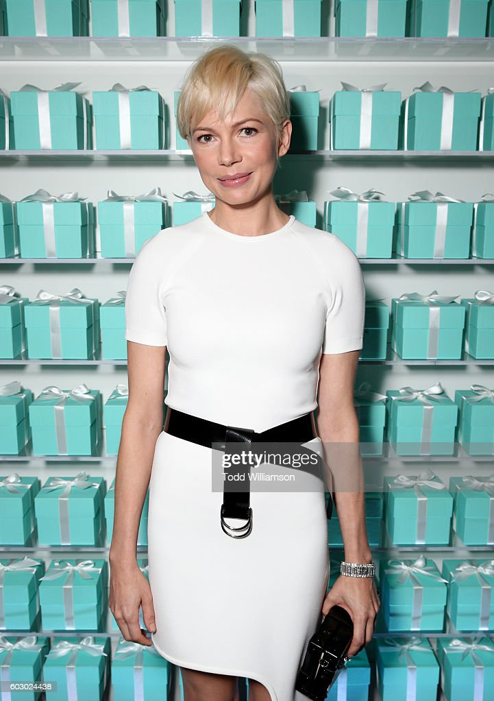 Actress Michelle Williams attends the Vanity Fair and Tiffany & Co. private dinner toasting Lupita Nyong'o and celebrating Legendary Style at Shangri-La Hotel on September 11, 2016 in Toronto, Canada.