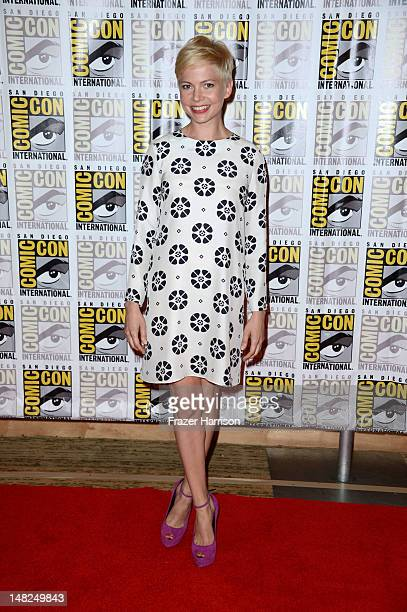 Actress Michelle Williams attends Walt Disney Studios 'Frankenweenie' 'Wreck It Ralph' and 'Oz' during ComicCon International 2012 held at the Hilton...