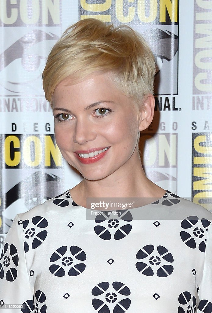 Actress Michelle Williams attends Walt Disney Studios: 'Frankenweenie,' 'Wreck It Ralph' and 'Oz' during Comic-Con International 2012 held at the Hilton San Diego Bayfront Hotel on July 13, 2012 in San Diego, California.