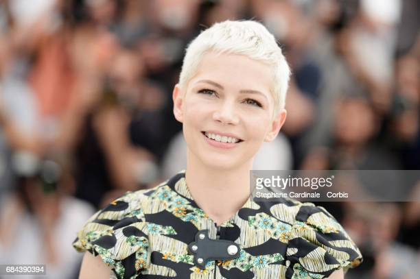 Actress Michelle Williams attends Wonderstruck' Photocall during the 70th annual Cannes Film Festival at Palais des Festivals on May 18 2017 in...