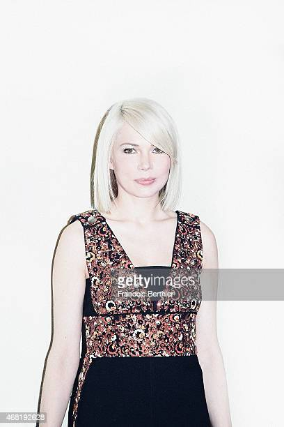 Actress Michelle Williams is photographed for Self Assignment on March 10 2015 in Paris France