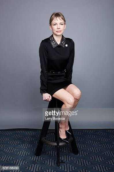 Actress Michelle Williams poses for a portrait at the 2016 Tony Awards Meet The Nominees Press Reception on May 4 2016 in New York City
