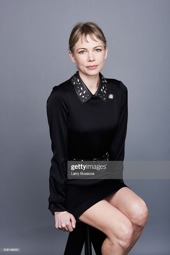 Actress <a gi-track='captionPersonalityLinkClicked' href=/galleries/search?phrase=Michelle+Williams&family=editorial&specificpeople=201698 ng-click='$event.stopPropagation()'>Michelle Williams</a> poses for a portrait at the 2016 Tony Awards Meet The Nominees Press Reception on May 4, 2016 in New York City.