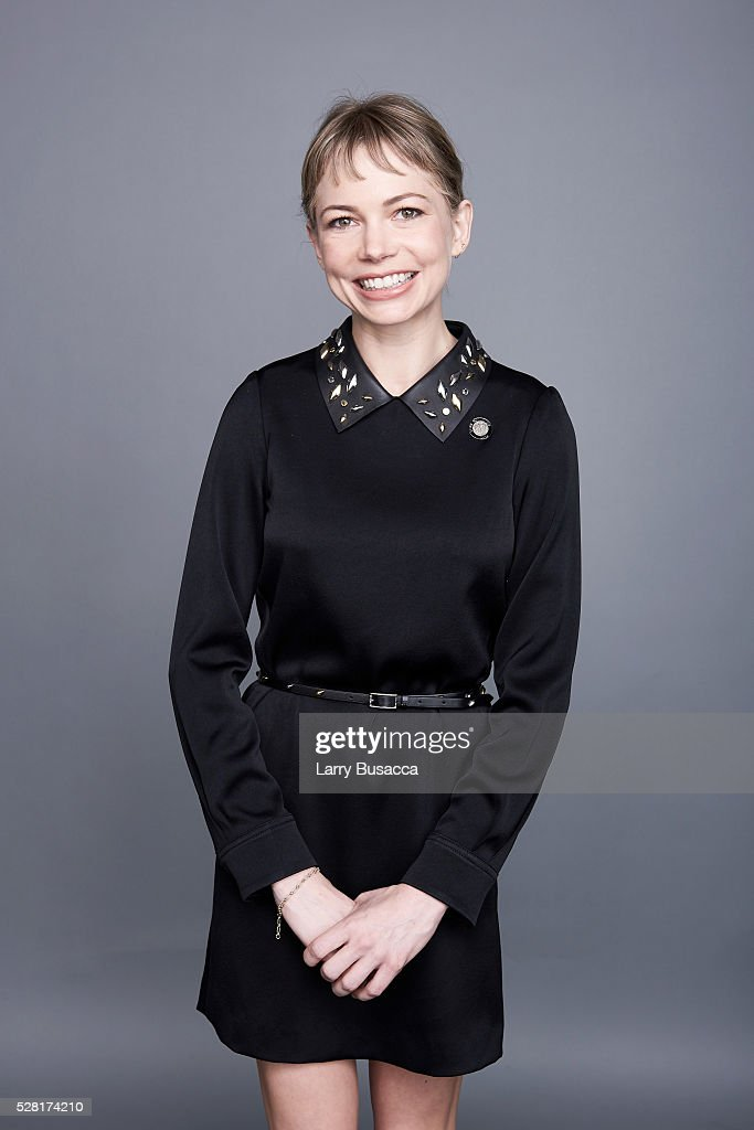 Actress <a gi-track='captionPersonalityLinkClicked' href=/galleries/search?phrase=Michelle+Williams+-+Actress&family=editorial&specificpeople=201698 ng-click='$event.stopPropagation()'>Michelle Williams</a> poses for a portrait at the 2016 Tony Awards Meet The Nominees Press Reception on May 4, 2016 in New York City.