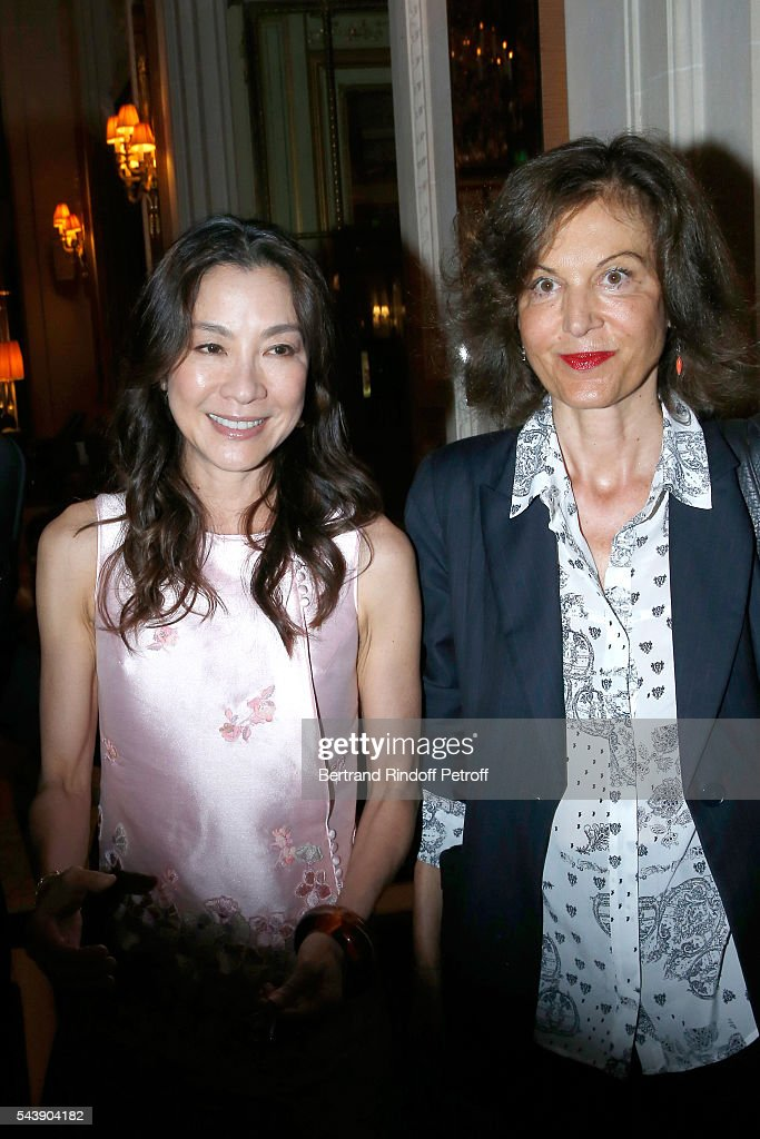 Actress <a gi-track='captionPersonalityLinkClicked' href=/galleries/search?phrase=Michelle+Yeoh&family=editorial&specificpeople=223894 ng-click='$event.stopPropagation()'>Michelle Yeoh</a> and Director <a gi-track='captionPersonalityLinkClicked' href=/galleries/search?phrase=Anne+Fontaine&family=editorial&specificpeople=601319 ng-click='$event.stopPropagation()'>Anne Fontaine</a> arrive at 6th Chinese Film Festival