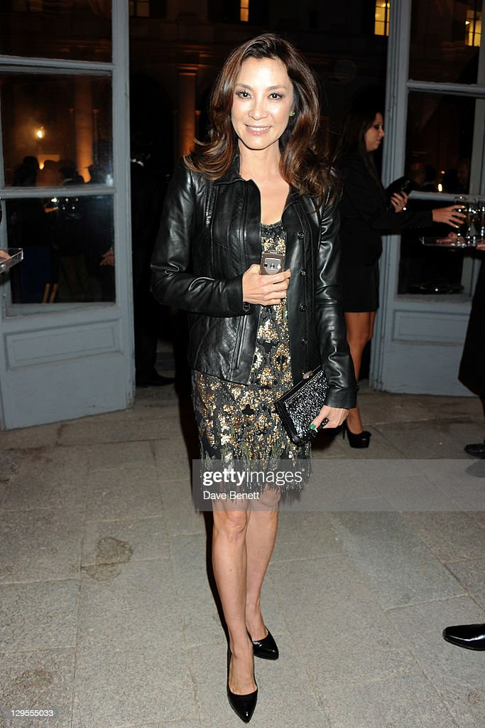 Actress Michelle Yeoh attends the Vertu Global Launch Of The 'Constellation' at Palazzo Serbelloni on October 18, 2011 in Milan, Italy.