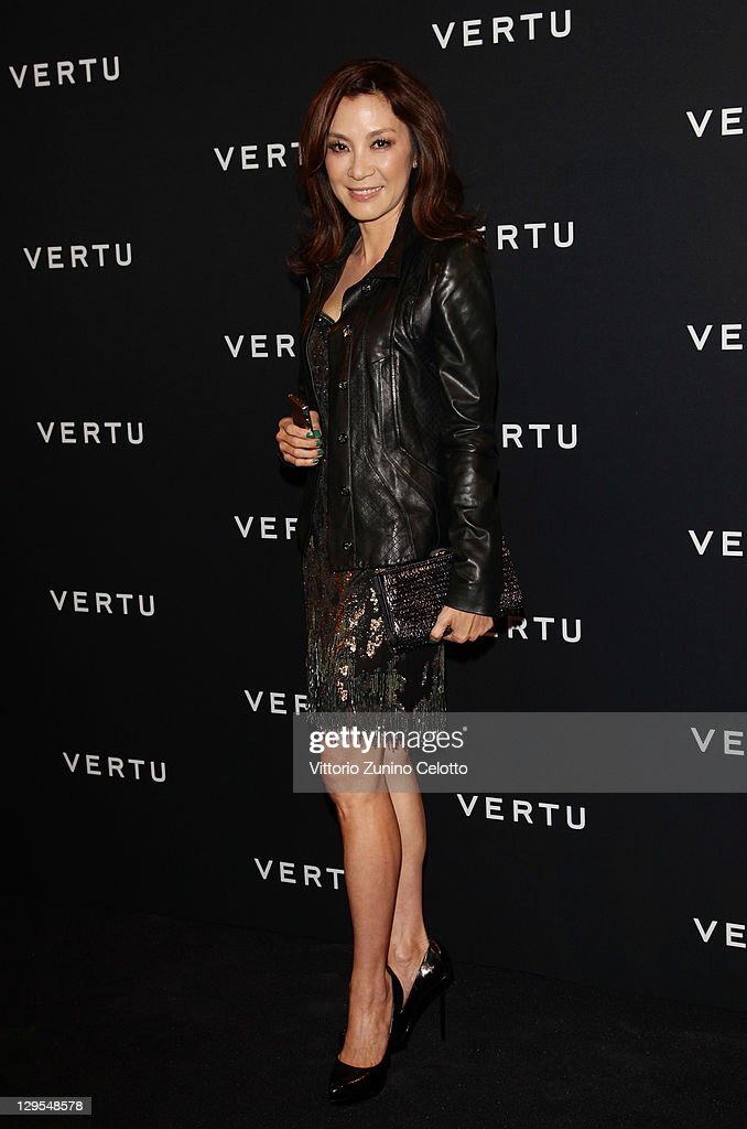 Actress Michelle Yeoh attends Vertu Global Launch Of The 'Constellation' at Palazzo Serbelloni on October 18, 2011 in Milan, Italy.