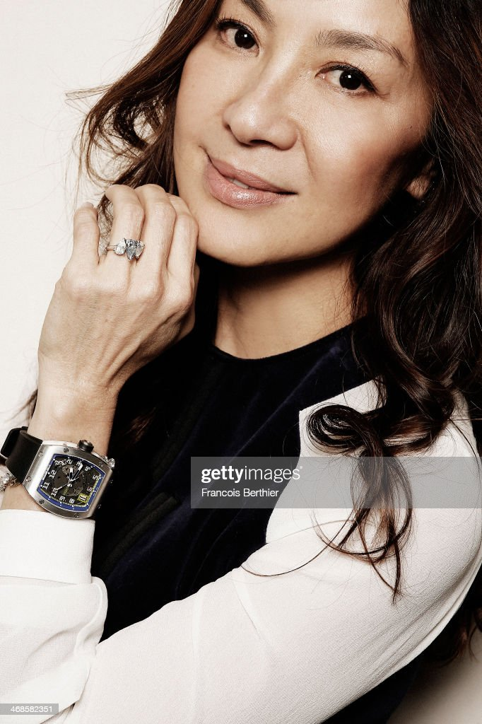 Actress Michelle Yeoh by Photographer Francois Berthier for the Contour Collection poses during the 64th Berlinale International Film Festival on...