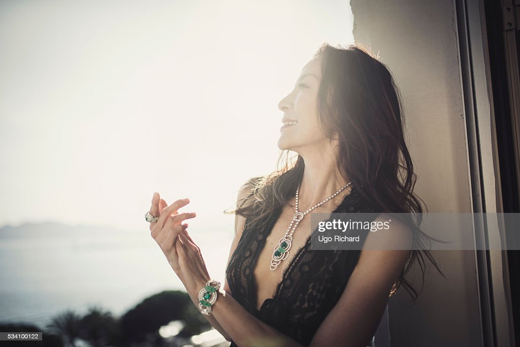 Actress Michelle Yeoh is photographed for Gala on May 15, 2016 in Cannes, France.