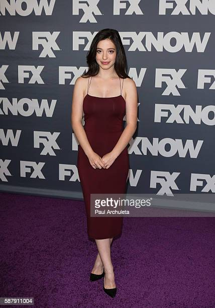 Actress Mikey Madison attends FX Networks TCA 2016 Summer Press Tour on August 9 2016 in Beverly Hills California