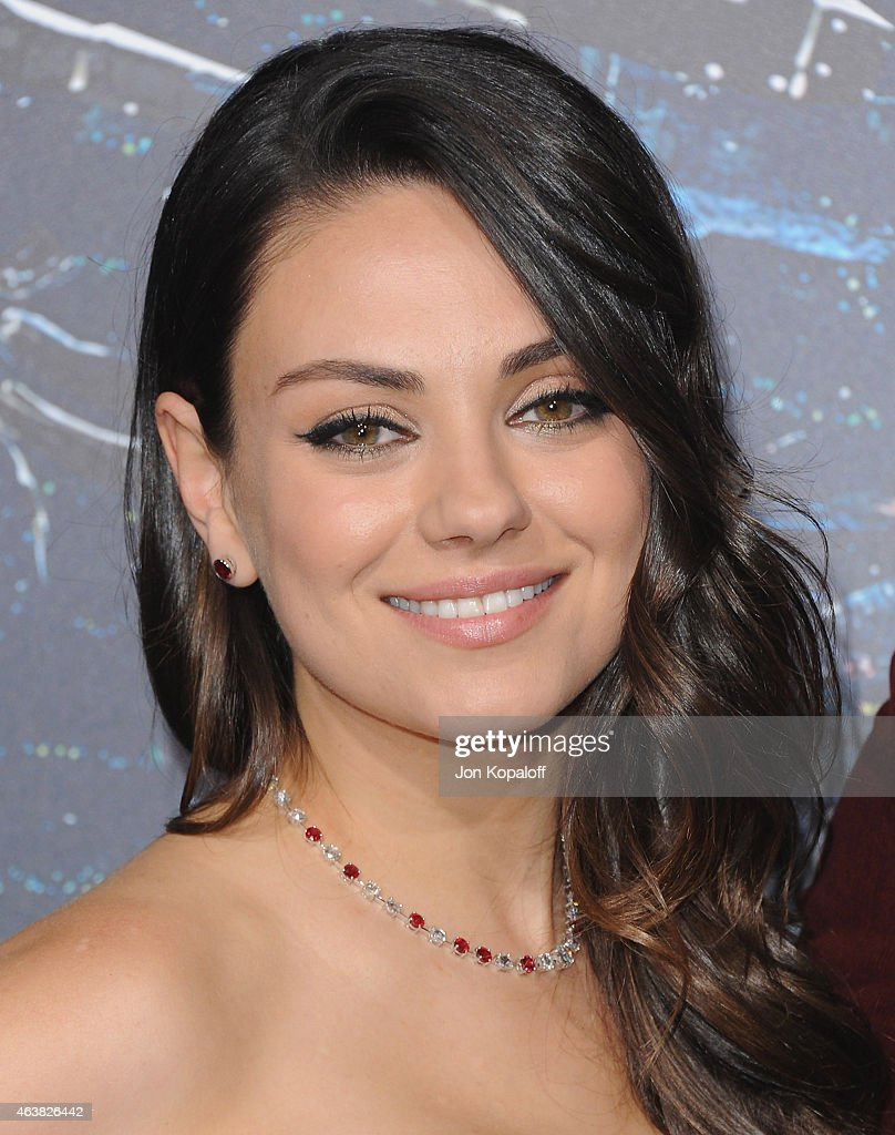 Actress Mila Kunis arrives at the Los Angeles Premiere 'Jupiter Ascending' at TCL Chinese Theatre on February 2, 2015 in Hollywood, California
