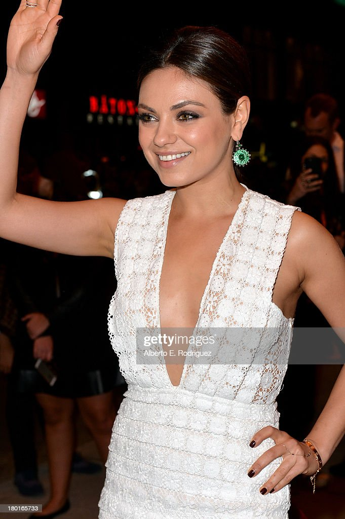 Actress Mila Kunis arrives at the 'Third Person' Premiere during the 2013 Toronto International Film Festival at The Elgin on September 9, 2013 in Toronto, Canada.
