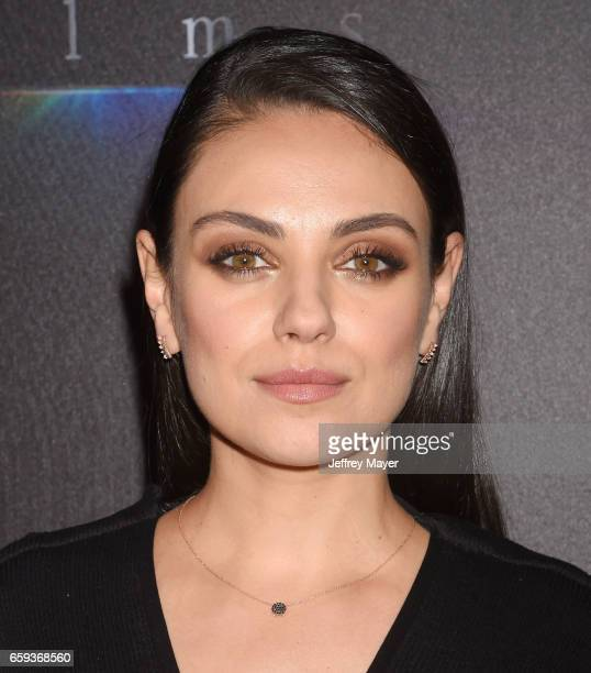 Actress Mila Kunis at CinemaCon 2017 The State of the Industry Past Present and Future and STX Films Presentation at The Colosseum at Caesars Palace...