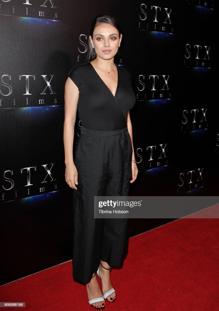 Actress Mila Kunis attends STX Films' 'The State of the Industry: Past, Present and Future' presentation during CinemaCon at The Colosseum at Caesars Palace on March 28, 2017 in Las Vegas, Nevada.