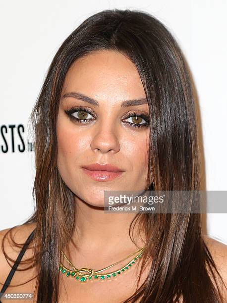 Actress Mila Kunis attends the premiere of Sony Picture Classics' 'Third Person' at the Linwood Dunn Theater Pickford Center for Motion Study on June...